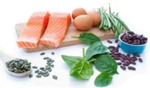 Proteinas vegetal y animal para un pelo sano
