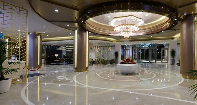 recepción de Hotel Hilton