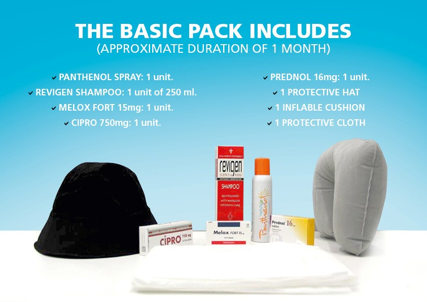 Products for basic pack
