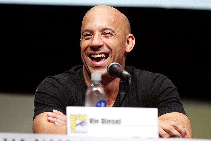 Pelo rapado como Vin Diesel