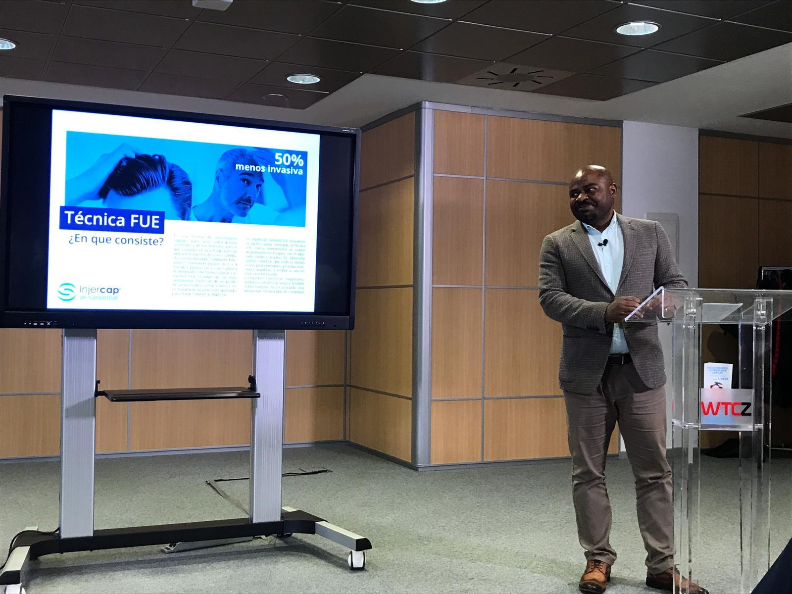 Dr Mbaraka Ahmed en Zaragoza