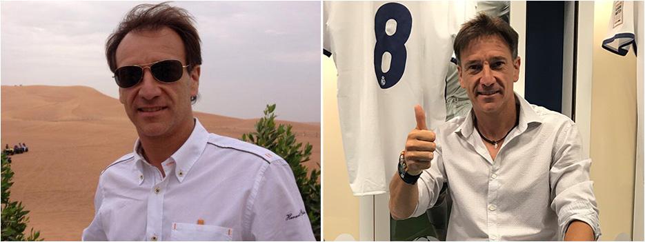 Alfonso Pérez trasplante capilar antes y después