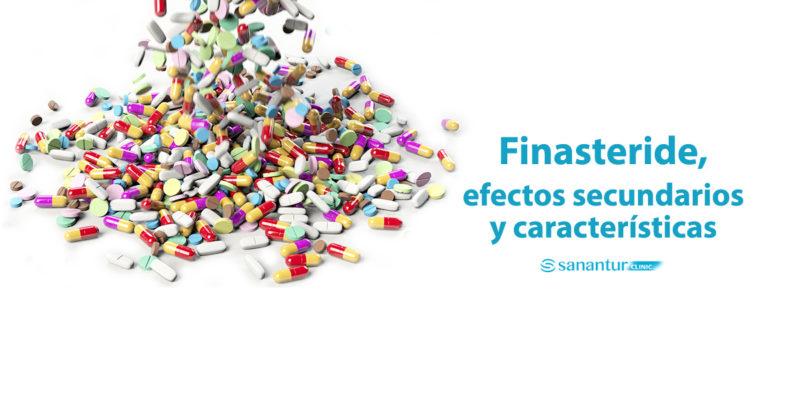 Finasteride efectos secundarios y características