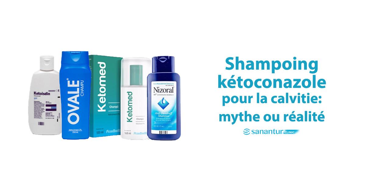 Shampoing Ketoconazole