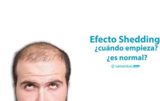 efecto shedding