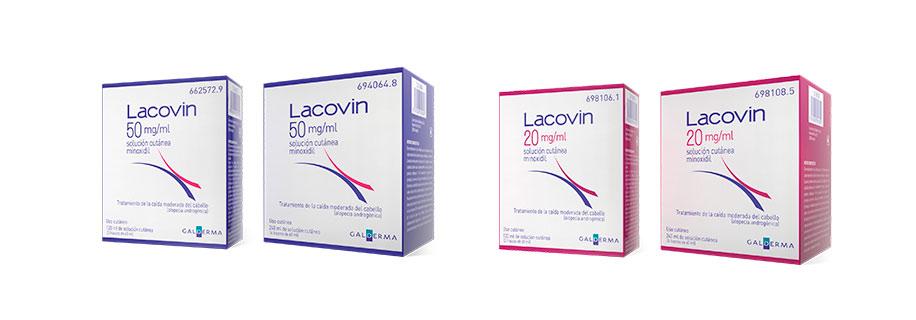 lacovin con minoxidil